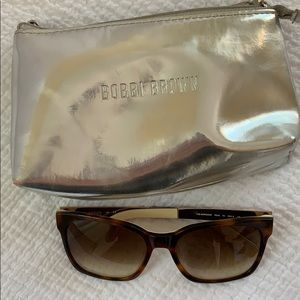 "Bobbi Brown ""The Morgan"" Sunglasses Tortoise 55mm"